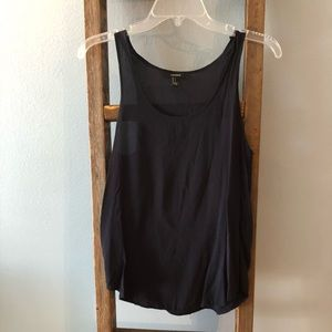 ***Fall Sale***Forever 21 Navy Blue Tank